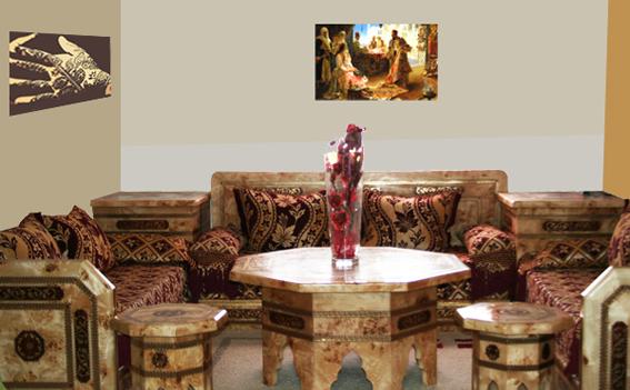 aux merveilles d 39 orient salon marocain salon oriental salons marocains design artisanat marocain. Black Bedroom Furniture Sets. Home Design Ideas