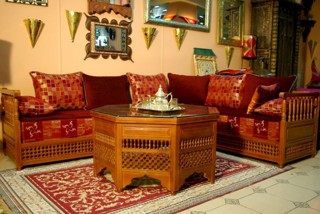 mobilier oriental marocain table de lit. Black Bedroom Furniture Sets. Home Design Ideas