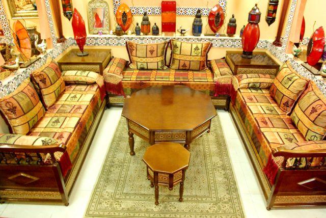 Salon marocain paris montreuil mobilier artisanat marocain - Salon du mobilier paris ...